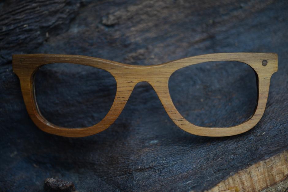 Los lentes buscan contribuir a reducir el desperdicio de madera. (Foto: Jesús Alfonso/Soy502)