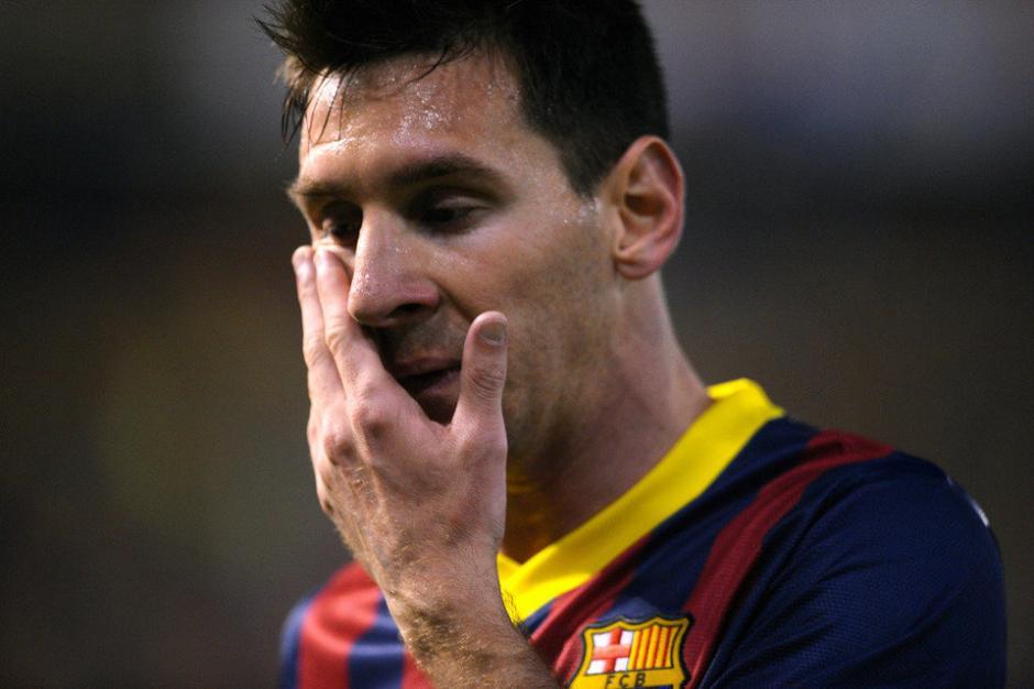 Messi no marcó tantos goles en la pasada Liga y terminó tercero por debajo de Suárez y CR7. (Foto: Twitter)