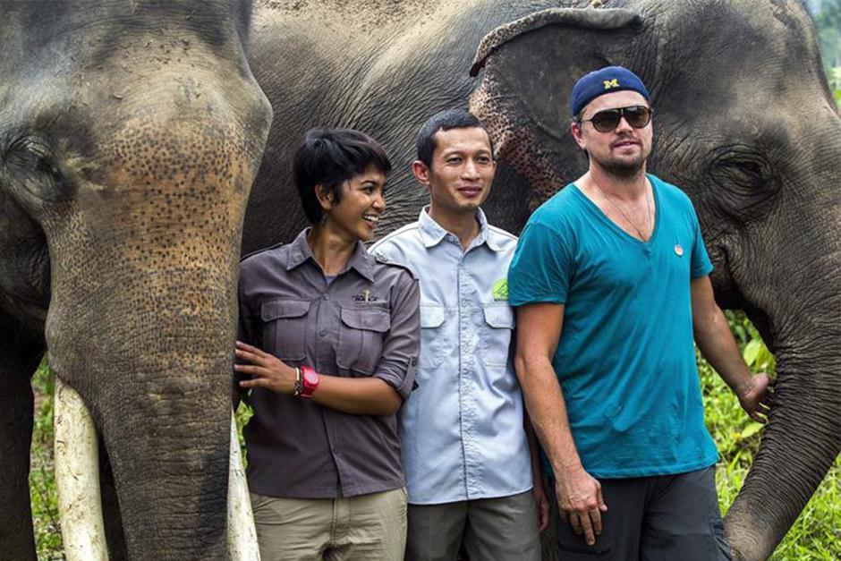 Tras ganar el premio Oscar, Leonardo DiCaprio continúa apoyando a defensores de la naturaleza. (Foto: EFE)
