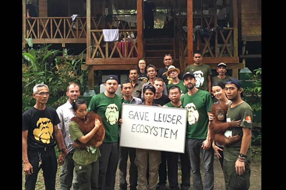 Ganador del premios Oscar a mejor actor visitó la selva de Indonesia durante dos días. (Foto: Instagram)