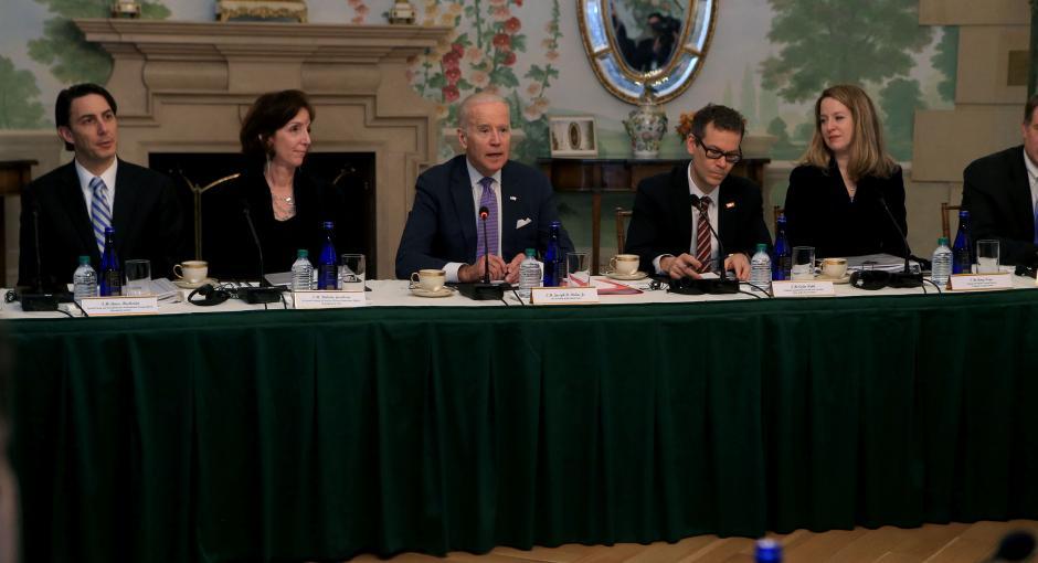 La reunión se enmarca en el plan de Alianza para la Prosperidad. En el encuentro, Biden pidió mayor compromiso en materia de migración y corrupción. (Foto: Gobierno)