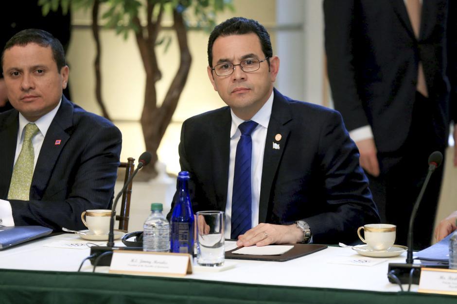 El martes, Jimmy viajó a EE.UU. en su primer visita como jefe de Estado. (Foto: Gobierno)