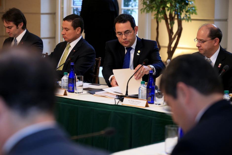 El Congreso de EE.UU. aprobó el año pasado 750 millones de dólares para el desarrollo de los tres países. En el encuentro, Biden pidió mayor compromiso en materia de migración y corrupción. (Foto: Gobierno)