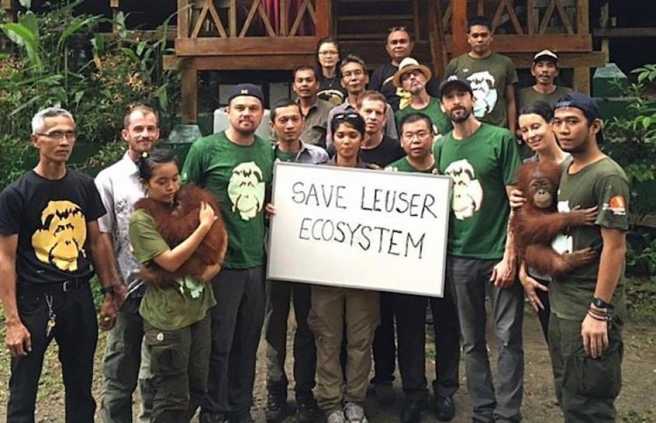 DiCaprio lucha por difundir el respeto hacia la naturaleza. (Foto: lovelindo.com)