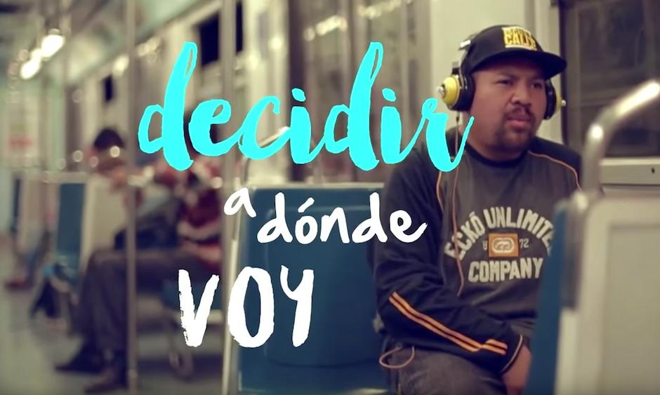 Leyton grabó el video en la ciudad de México. (Foto: Youtube)
