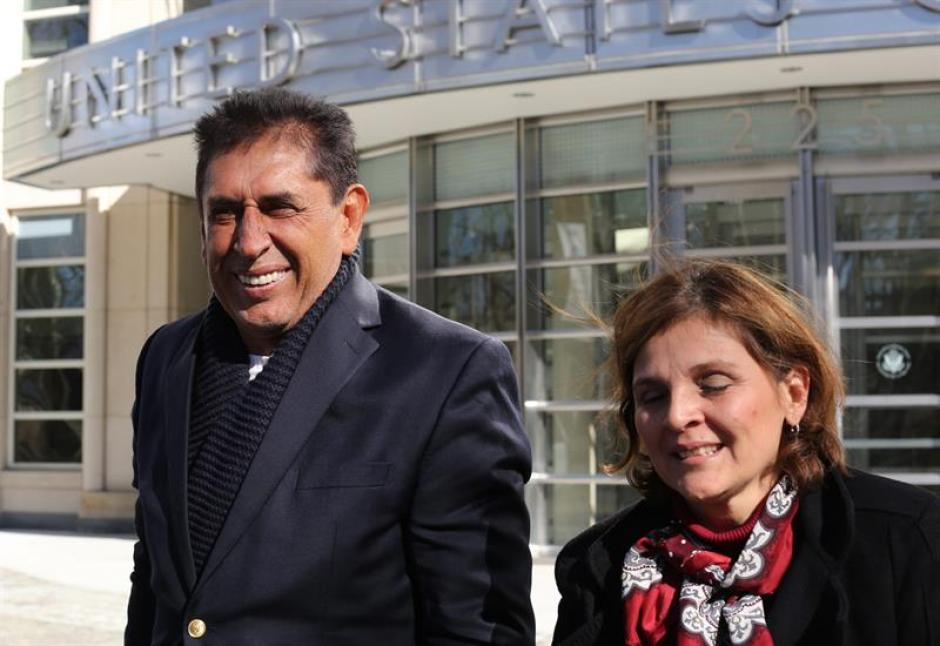 Jiménez acordó con la fiscalía que los documentos presentados como pruebas en su contra sean confidenciales. (Foto: AFP)