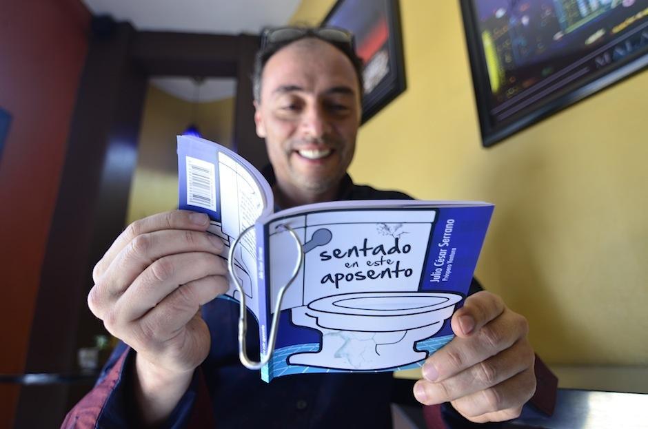El actor, locutor y comediante Julio C. Serrano escribió un libro. (Foto: Selene Mejía/Soy502)