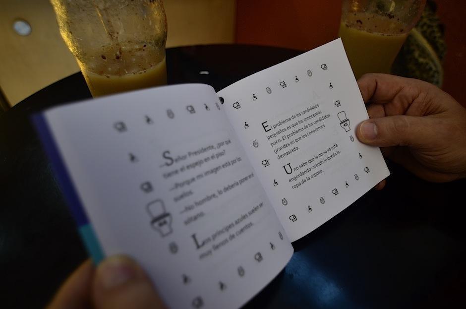El libro está disponible en las oficinas de Emisoras Unidas. (Foto: Selene Mejía/Soy502)