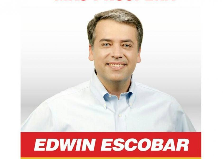 Edwin Escobar es el actual alcalde y se postula con el partido Lider para alcanzar un segundo periodo como alcalde villanovano. (Foto: Edwin Escobar)