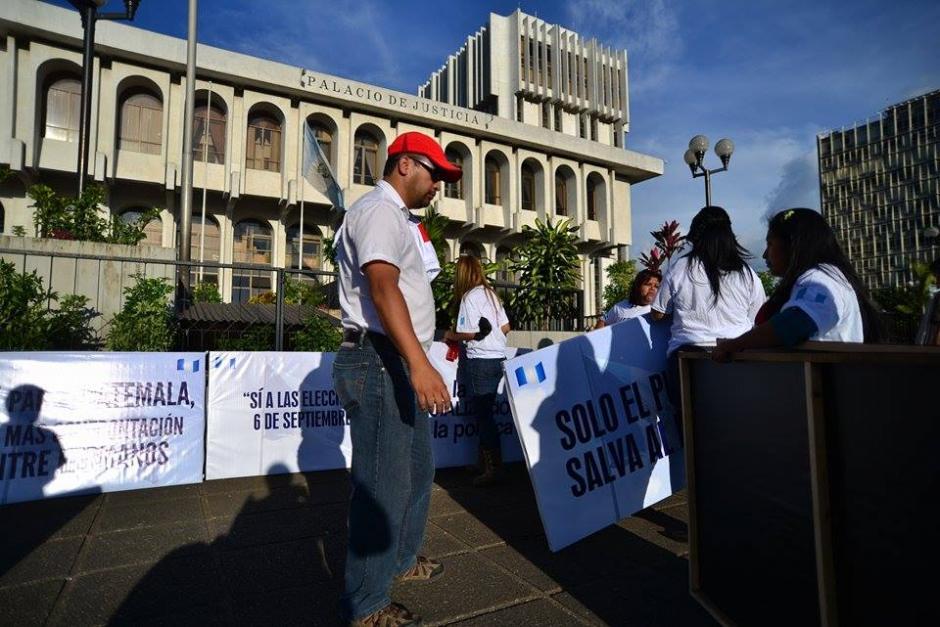 La agrupación política afirmó esta semana que no gastó recursos en esta vigilia. (Foto: Wilder López/Soy502)