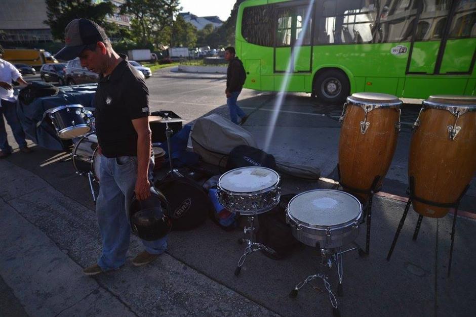 Grupos musicales amenizarán la vigilia del Lider programada para este miércoles. (Foto: Wilder López/Soy502)