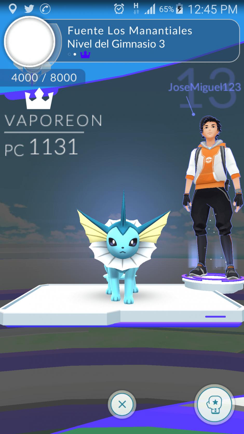 Por cada Pokémon que dejes en un gimnasio obtendrás 10 monedas. (Foto: captura de pantalla)