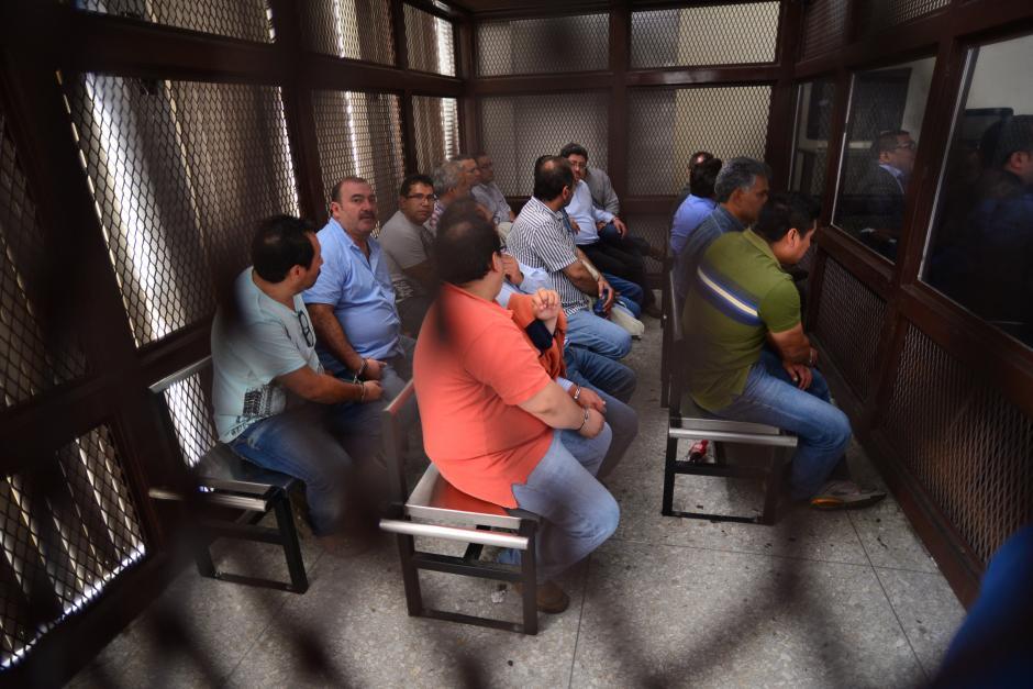 16 de los sindicados fueron ligados a proceso y enviados a prisión preventiva. (Foto: Archivo/Soy502)