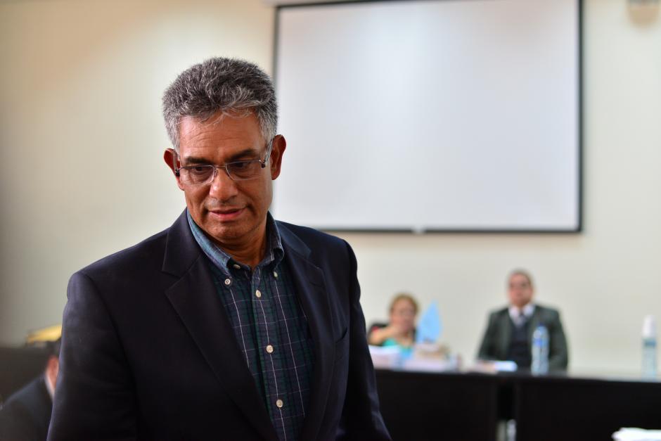 El exintendente de la SAT Carlos Muñoz, también fue ligado a proceso. (Foto: Archivo/Soy502)