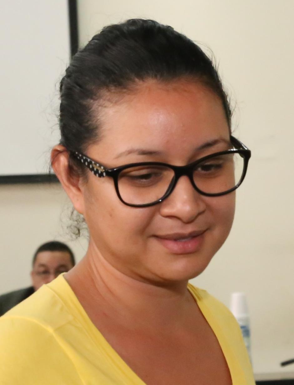 Mónica Patricia Jáuregui fue beneficiada con medida sustitutiva. (Foto: Archivo/Soy502)