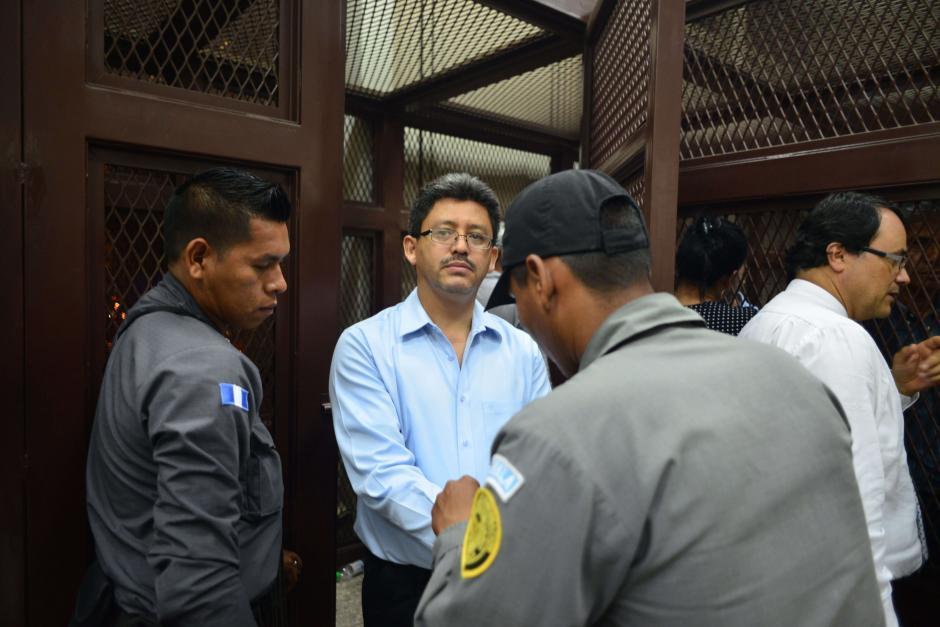 El exintendente de la SAT Omar Franco, fue enviado a prisión preventiva. (Foto: Archivo/Soy502)