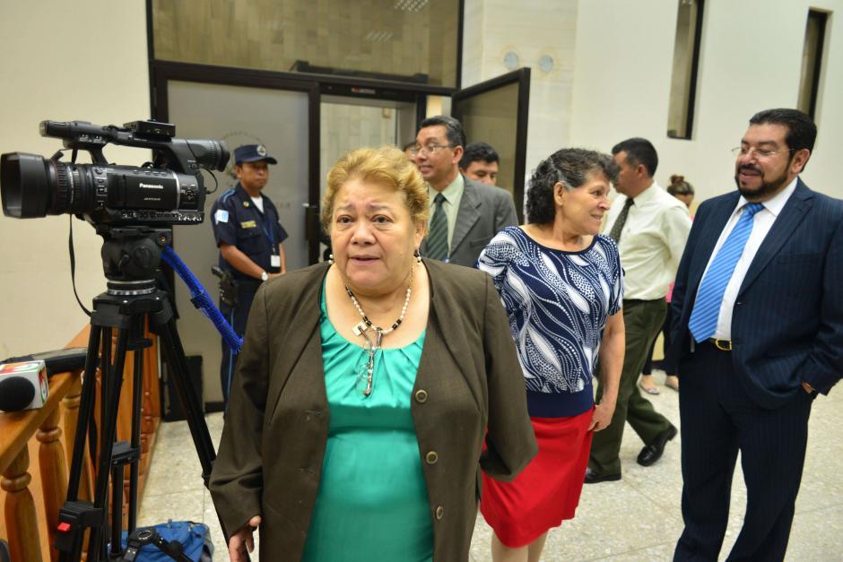 La jueza Marta Sierra de Stalling benefició con medida sustitutiva a seis sindicados. (Foto: Archivo/Soy502)
