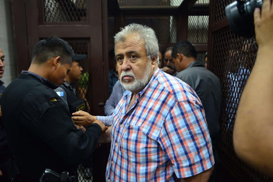 """Francisco Javier Ortiz, alias """"Teniente Jeréz"""" fue beneficiado con medida sustitutiva. (Foto: Archivo/Soy502)"""
