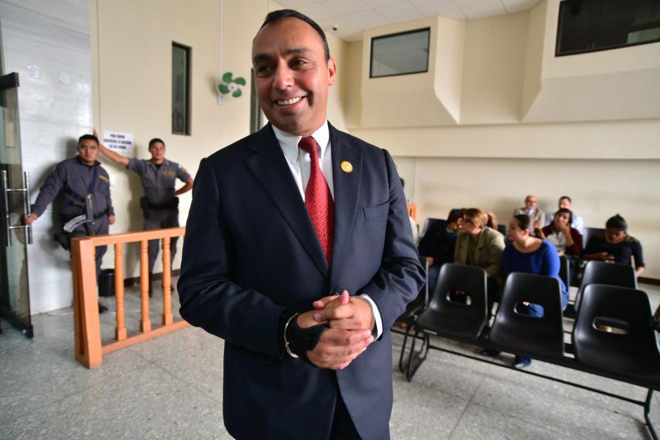 Byron Lima pasó por varias cárceles del país. (Foto: Archivo/Soy502)