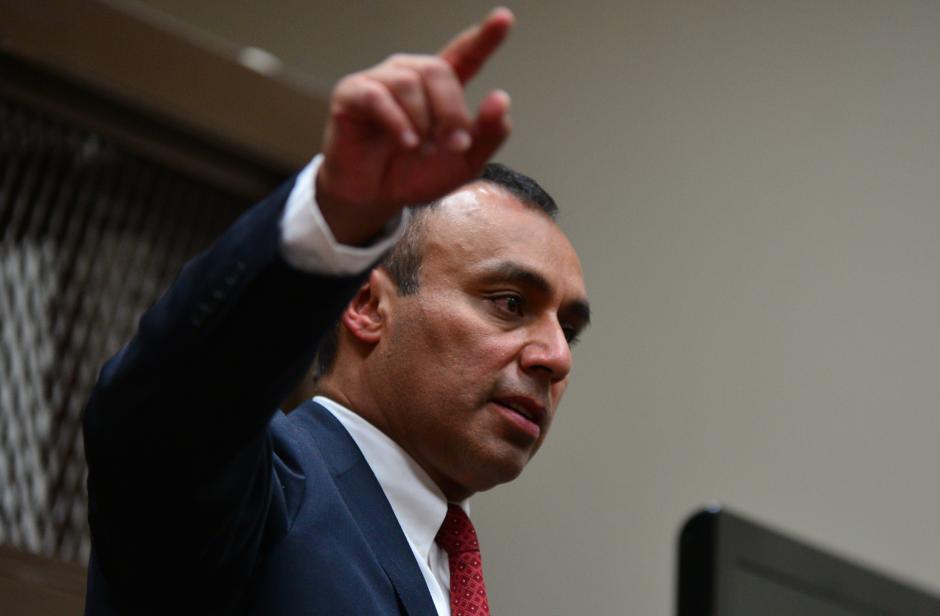 Byron Lima había pedido la redención de penas, pero falsificó documentos para lograrlo. (Foto: Archivo/Soy502)