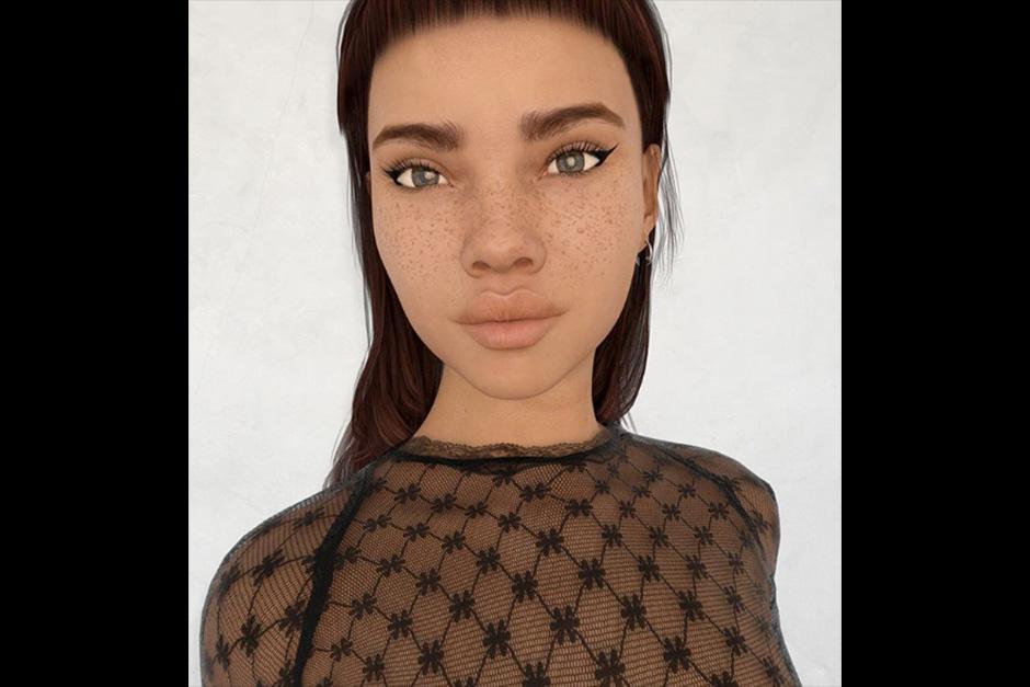 Lil Miquela es una modelo virtual que despertó un gran debate en las redes sociales. (Foto: Instagram)
