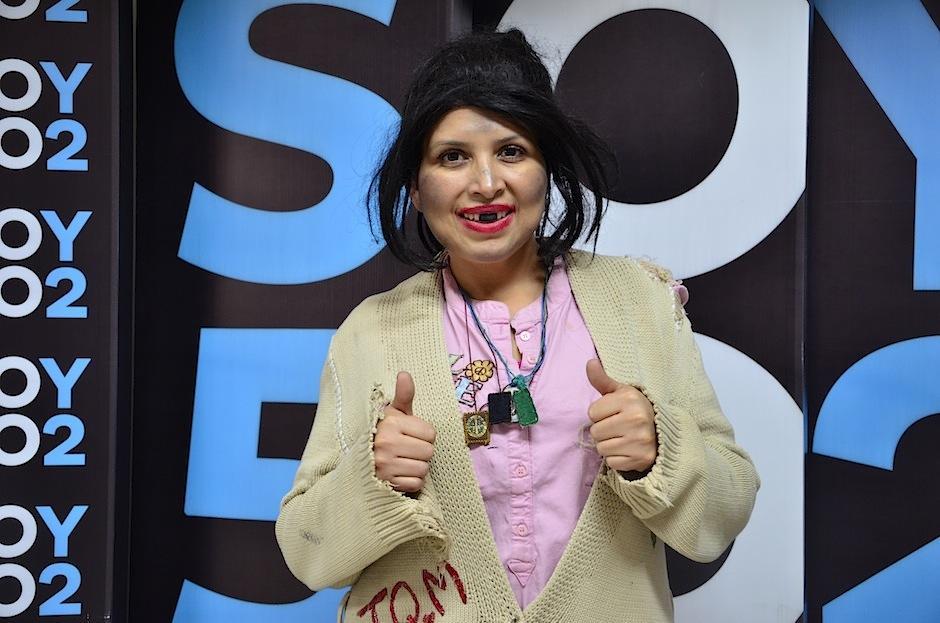 La Chupitos expresó todo su cariño a los guatemaltecos. (Foto: Selene Mejía/Soy502)