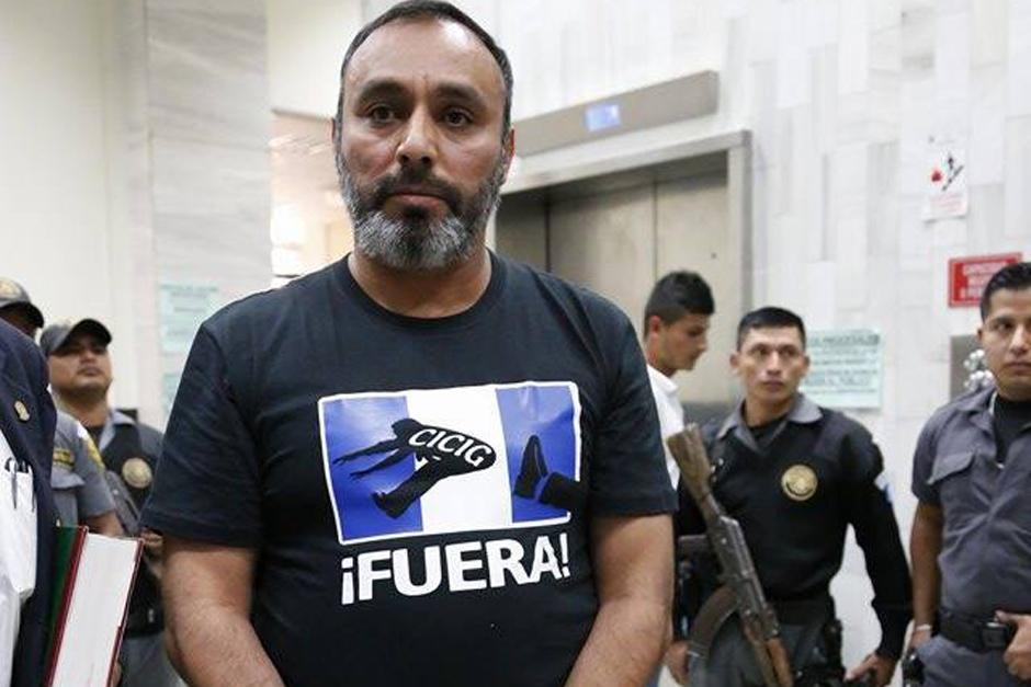Byron Lima fue un férreo opositor de la presencia de la CICIG en Guatemala. (Foto: Nuestro Diario)