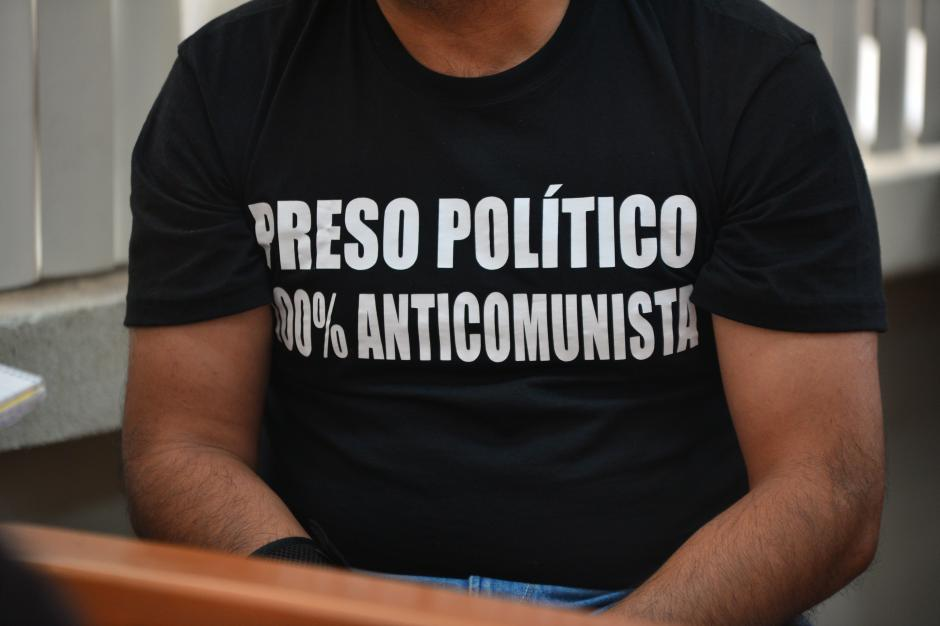 Lima se consideraba un preso político. (Foto: Archivo/Soy502)