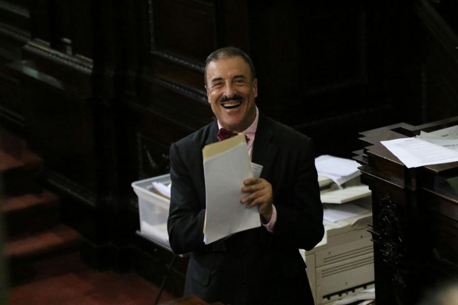 Linares Beltranena ha repartido su plan de trabajo en el hemiciclo. (Foto: Archivo/Soy502)