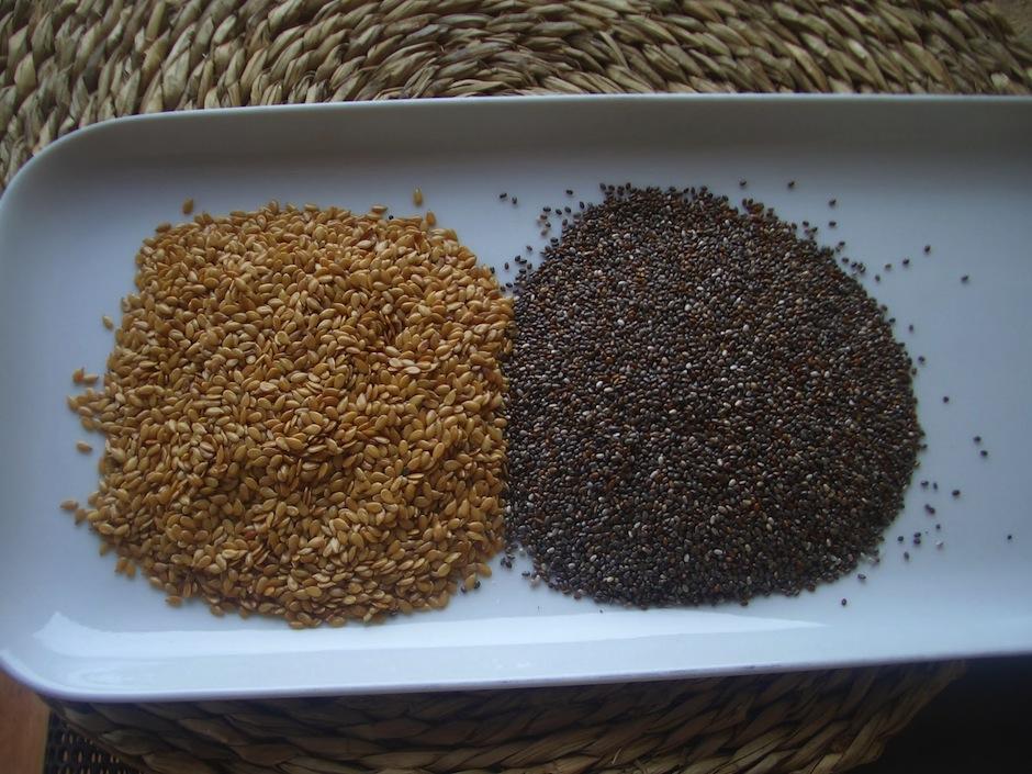 La chía y linaza tienen acciones antiinflamatorias, además de aumentar la fuerza y rendimiento. (Foto: annacanel.es)