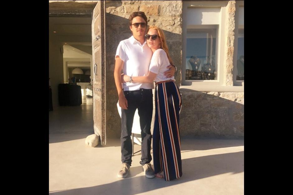 La ex chica Disney, de 30 años, se encuentra en Mykonos, Grecia. (Foto: Instagram)