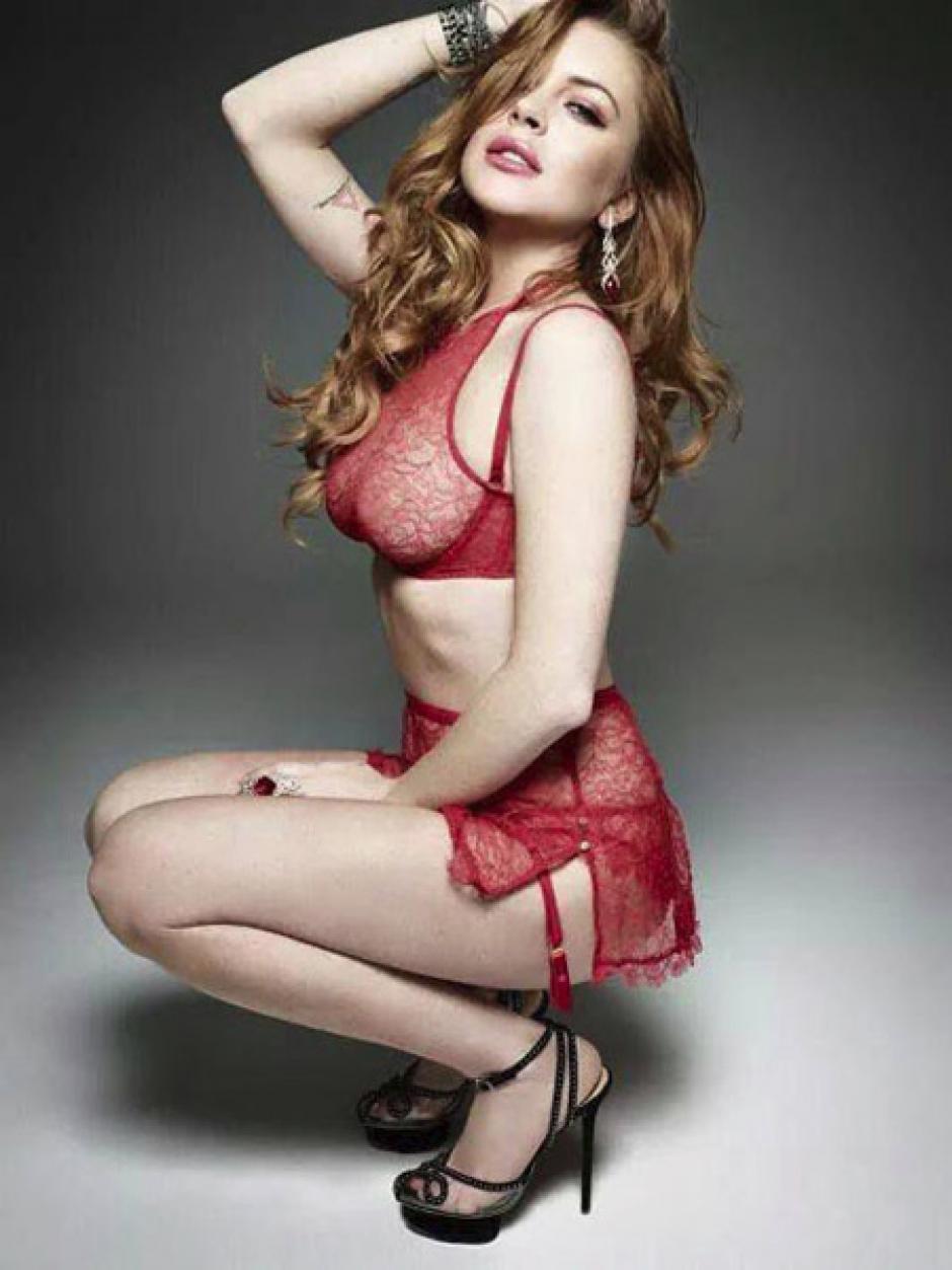 Lohan ha sido considerada una de las actrices más sexys. (Foto: Celebrity)