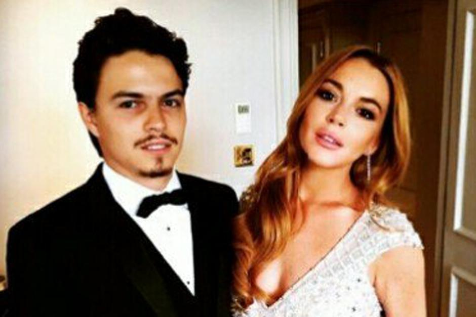 Egor tarabasov y Lindsay Lohan se habían comprometido. Se filtró un video de una agresión de Egor hacia su pareja. (Foto: The Sun)