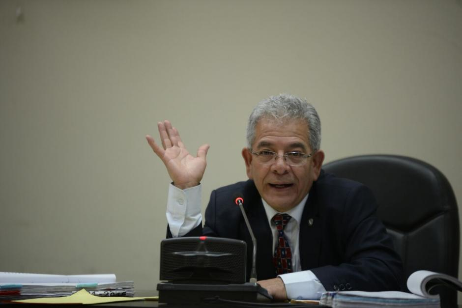 El juez Miguel Ángel Gálvez intentará reanudar la audiencia de etapa intermedia. (Foto: Wilder López/Soy502)