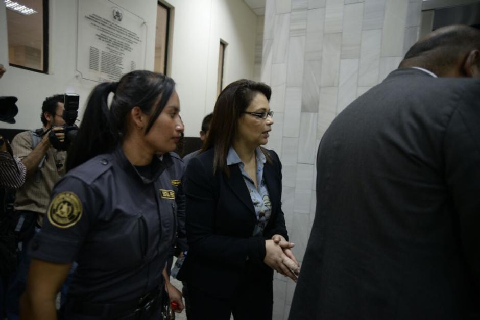 Roxana Baldetti deberá volver a tribunales por la audiencia de La Línea. (Foto: Wilder López/Soy502)