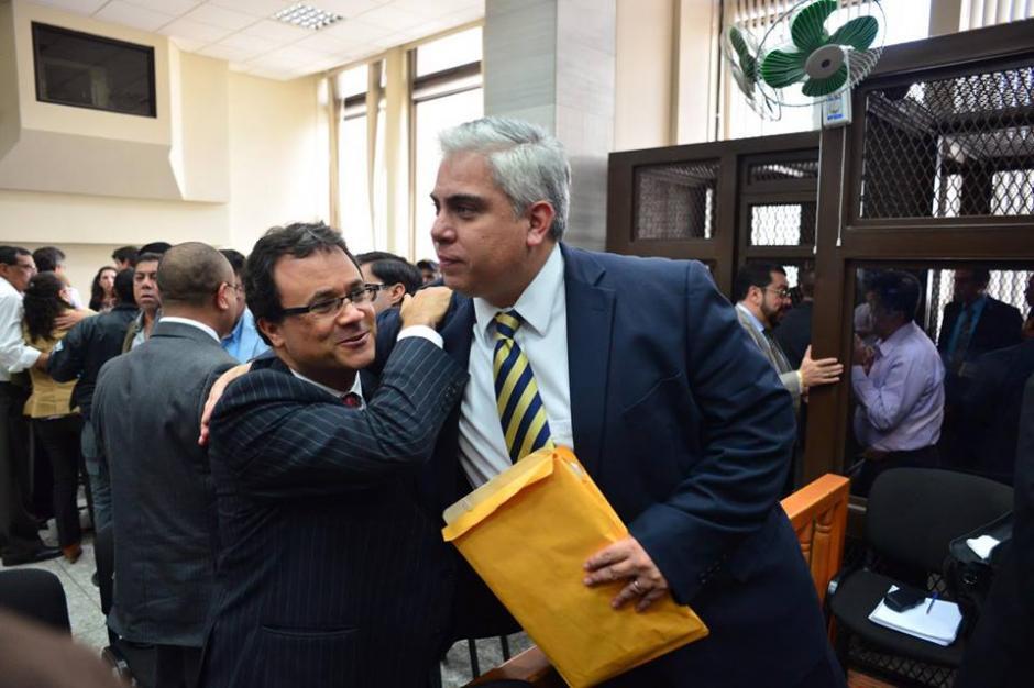 Trujillo quedó arraigado y la CGC deberá investigar asunto de crédito fiscal con empresa. (Foto: Jesús Alfonso/Soy502)