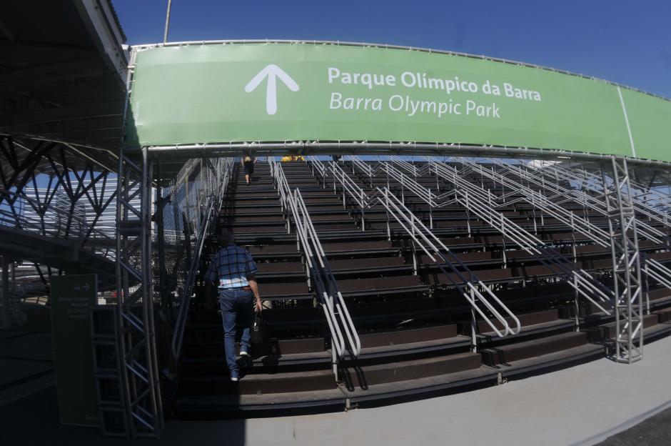 Recién se estrenó la nueva estación del metro en Río de Janeiro. (Foto: Pedro Pablo MIjangos/Soy502)