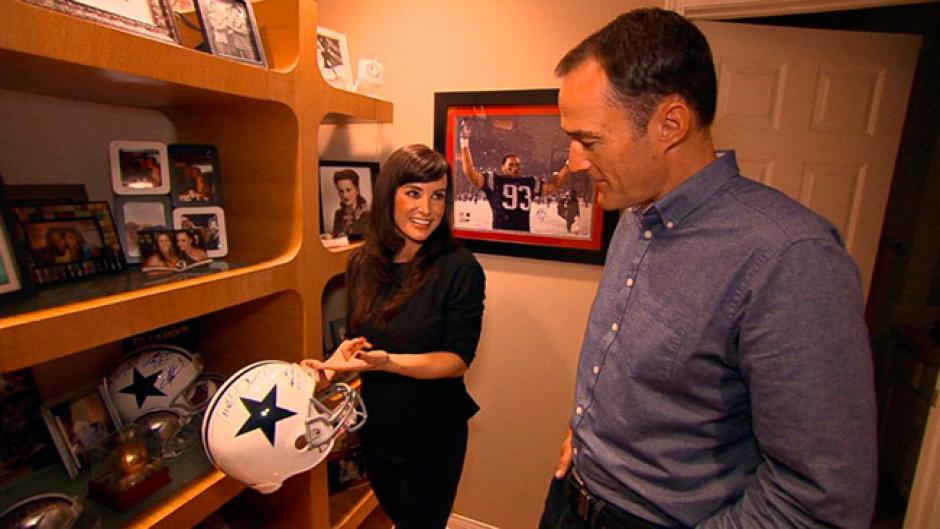 Lisa Ann se divierte entrevistando a jugadores de fútbol americano. (Foto: eldiario.ec)