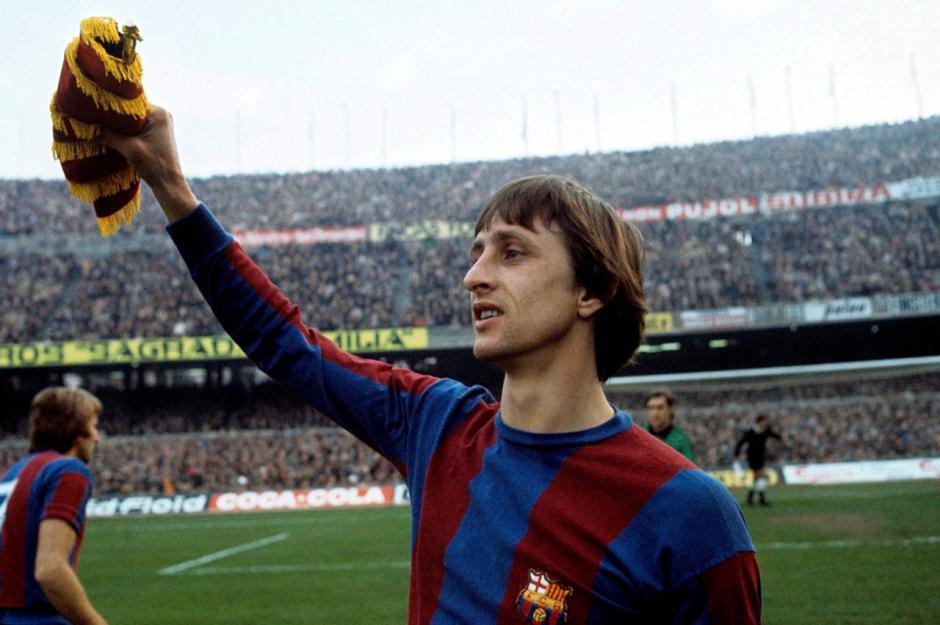 Johan Cruyff fue jugador y entrenador del Barcelona
