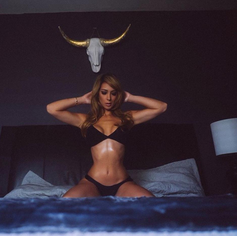 Sensual y provocativa, así luce Luvia Gullo.  (Foto: Livia Gullo)