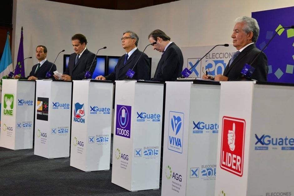 La panorámica del lugar donde se desarrolló el debate. (Foto: Wilder López/Soy502)