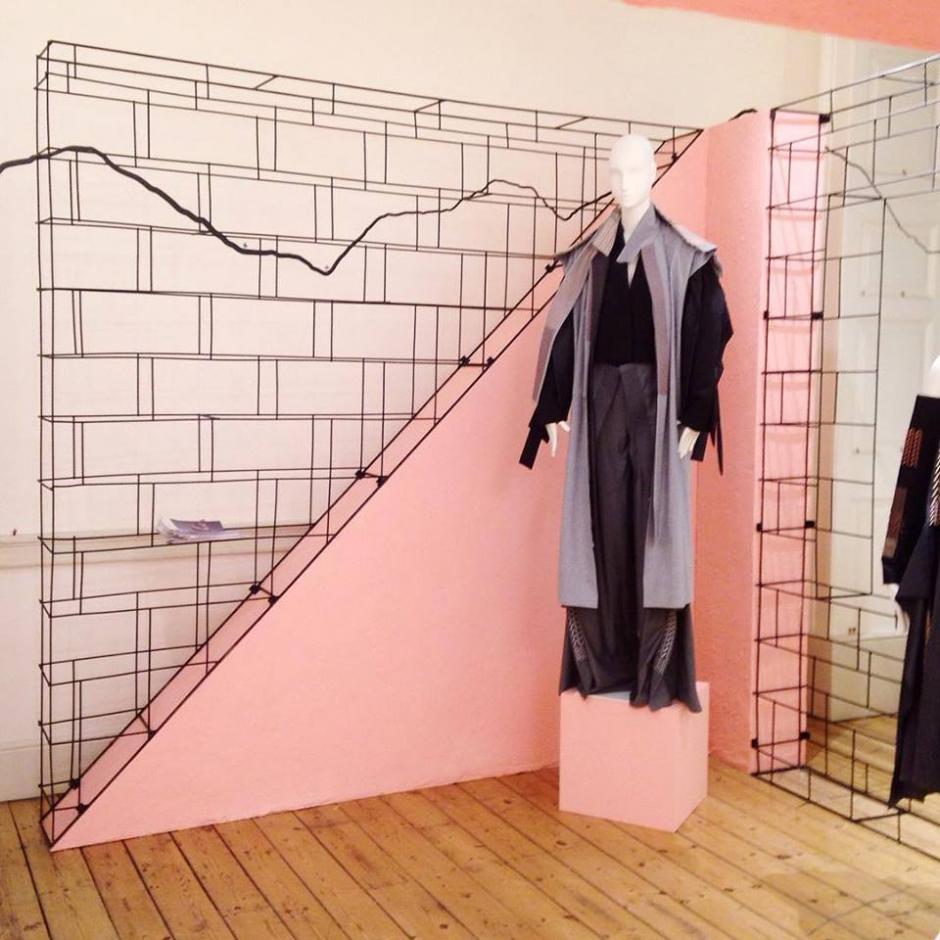 las piezas de los diseñadores nacionales se lucieron ante especialistas de moda. (foto: Cecilia Santamarina)