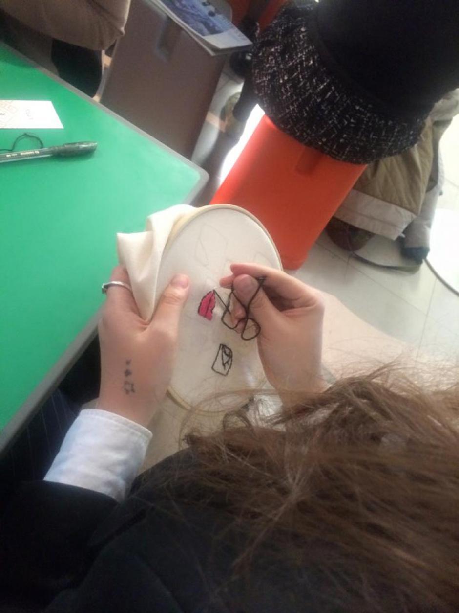 Diversas actividades se realizaron en la exhibición. (Foto: Cecilia Santamarina)