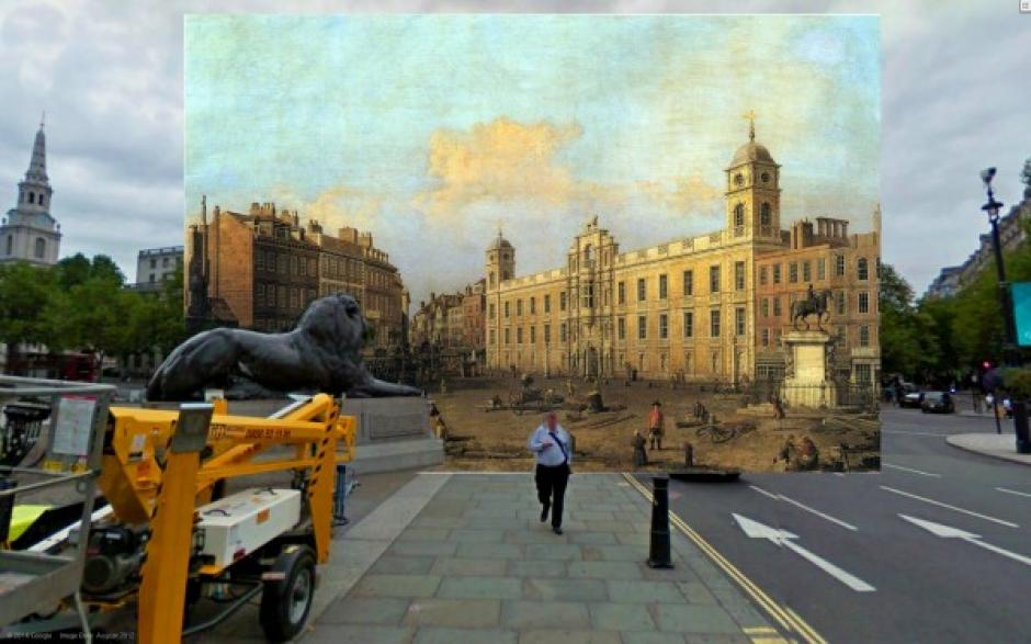 La Casa Northemberland (1752), pintura de Canaletto.  (Foto: Visual News)