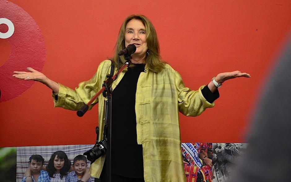 Nancy McGirr es la fundadora del proyecto. (Foto: Selene Mejía/Soy502)