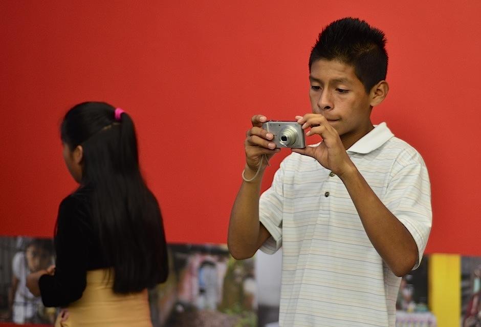 Cada momento es perfecto para una fotografía. (Foto: Selene Mejía/Soy502)