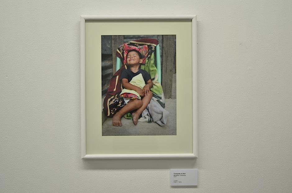 La exposición está en el Centro Cultural de España, en Guatemala. (Foto: Selene Mejía/Soy502)