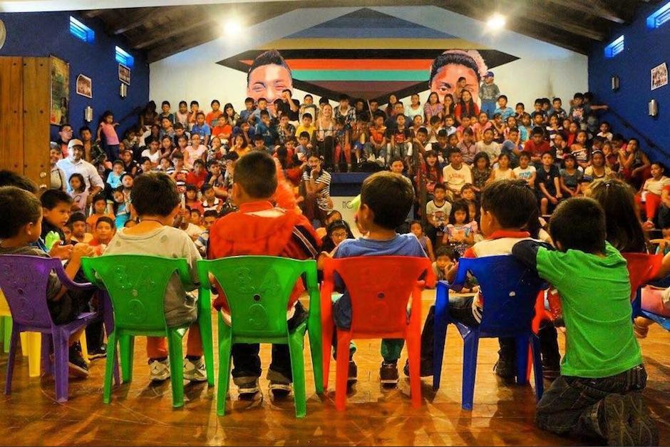 Las instalaciones del proyecto social Los Patojos fueron saqueadas por delincuentes. (Foto: Facebook)