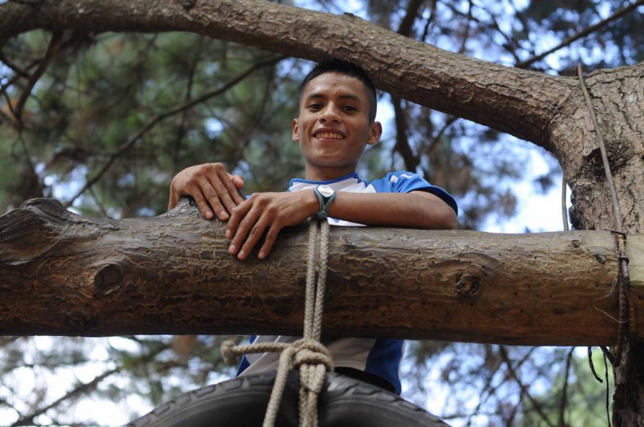 Mario Pacay, es oriundo de Alta Verapaz, su especialidad es el atletismo de pista, en las pruebas de 5,000 y 10,000 metros. (Foto: Soy502)