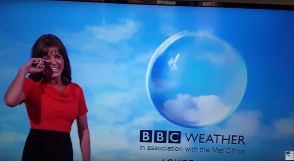 El video de la graciosa presentación del clima fue subida a YouTube. (Imagen: Captura de YouTube)